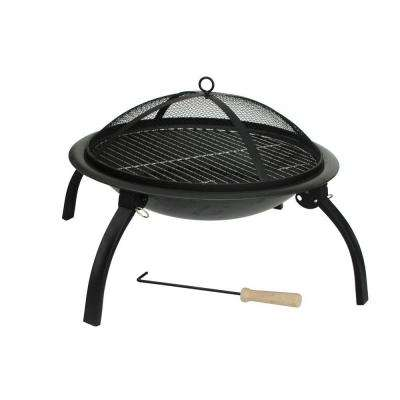 22 in. Folding Fire Pit