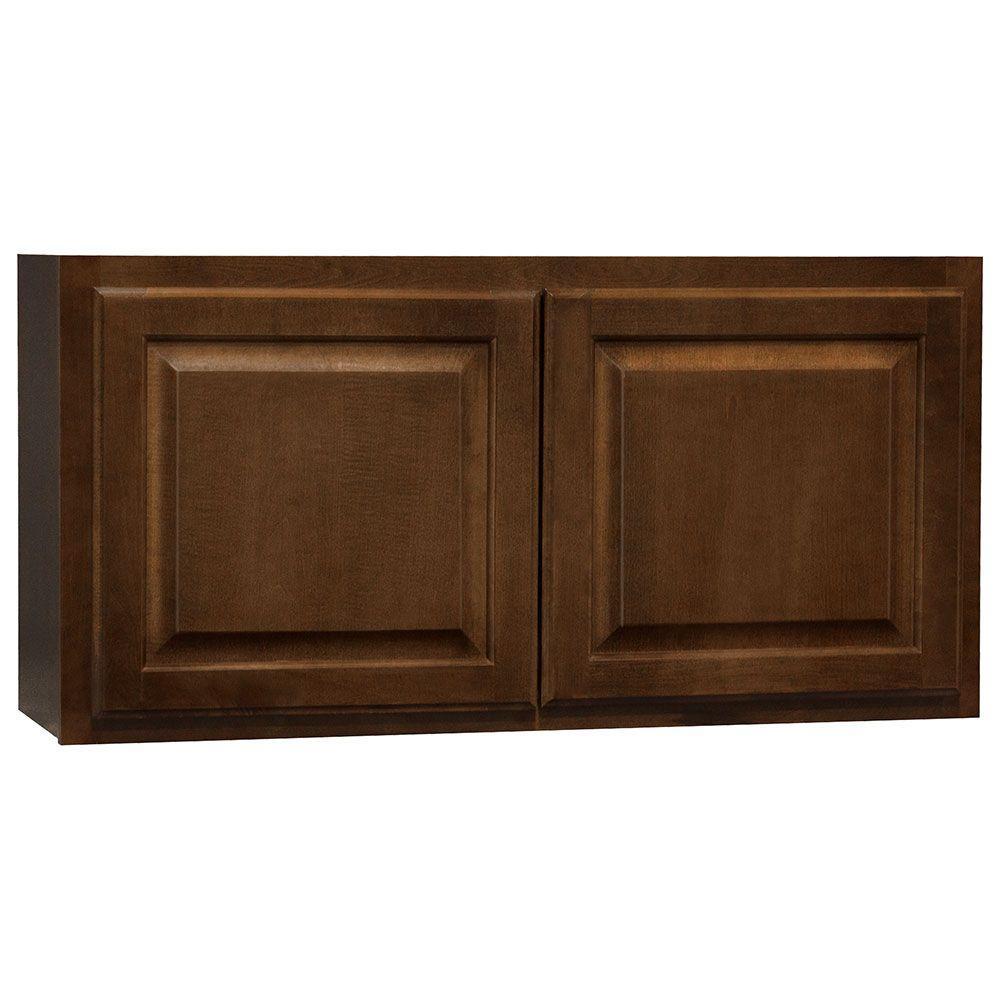 Hampton Bay Kitchen Cabinets Catalog: Hampton Bay Hampton Assembled 36x18x12 In. Wall Bridge