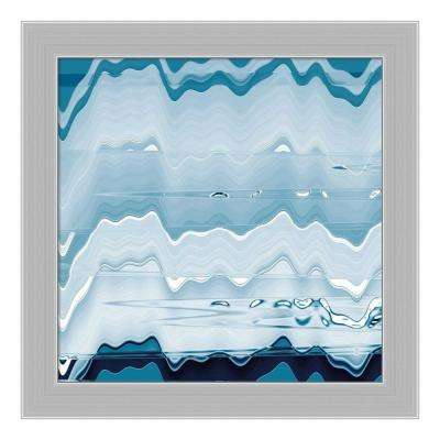 """""""Ice Pools"""" by Jane-Ann Butler Framed Canvas Wall Art"""