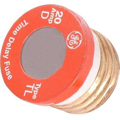 20 Amp Type Time Delay Fuse (2-Pack)