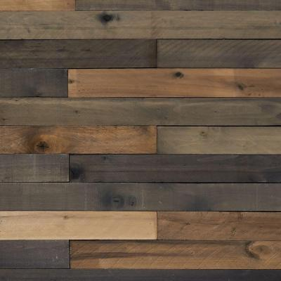 Weaber 1/2 in. x 4 in. x 4 ft. Weathered Hardwood Board (8-Piece)