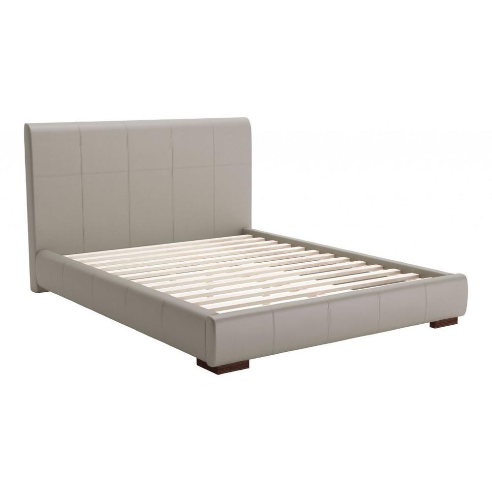 Julia Gray Queen Platform Bed