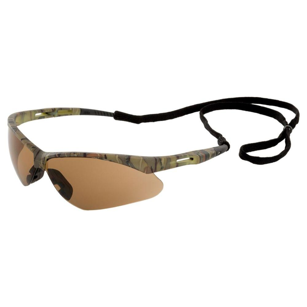 Octane Eye Protection, Camo Frame/Brown Anti Fog Lens