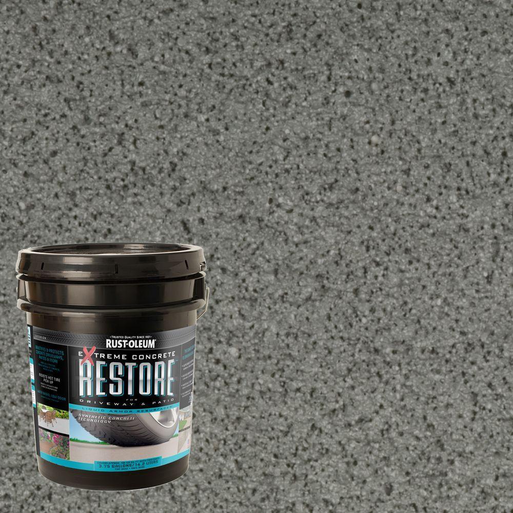 Rust-Oleum Restore 4 gal. Gray Liquid Armor Resurfacer