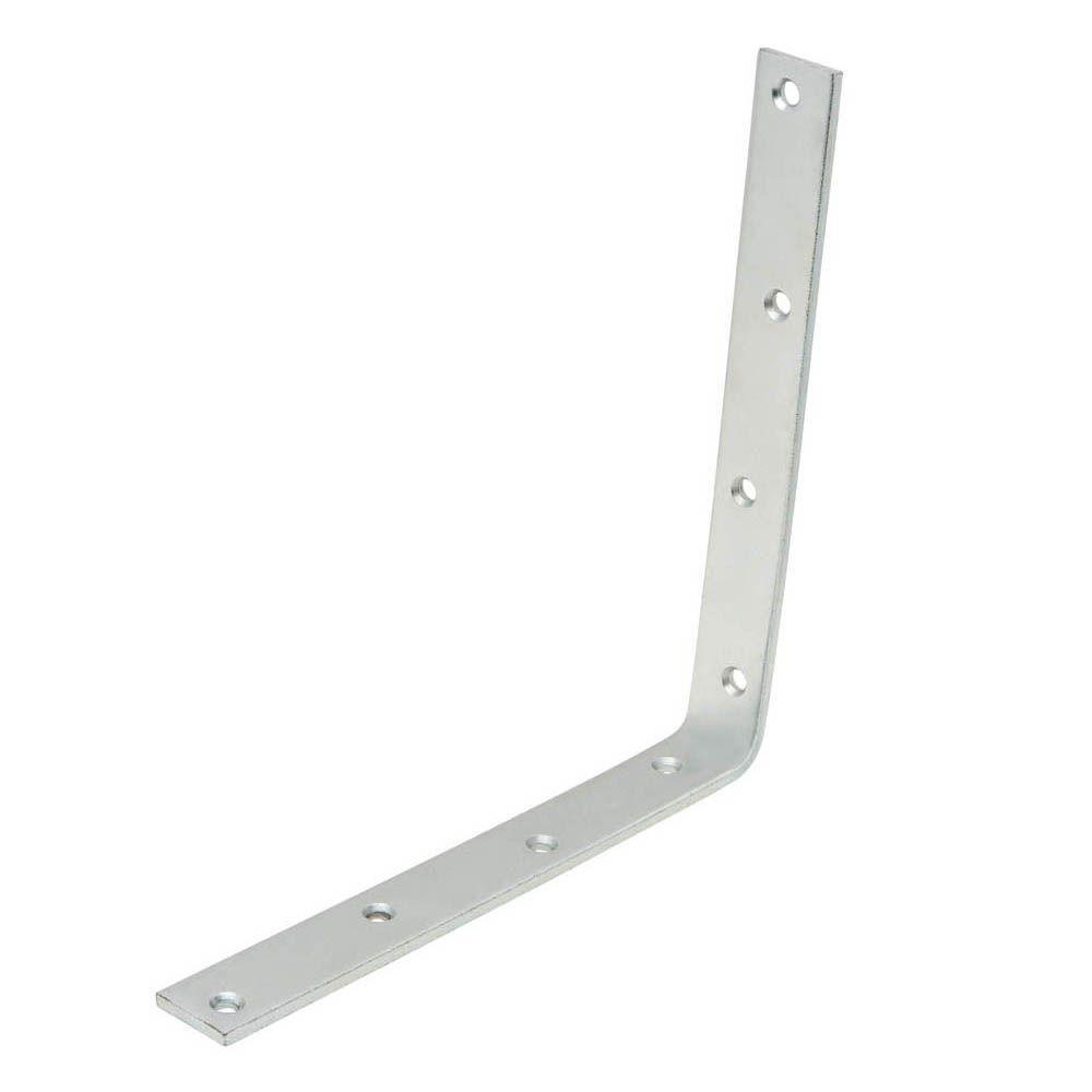 10 in. Zinc-Plated Corner Brace