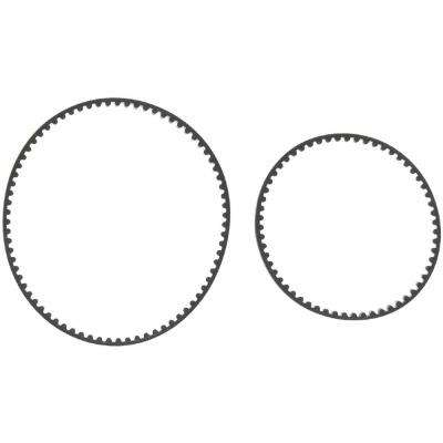 Belt Kit Replacement for Bissell ProHeat 2X Part 203-6688 and 203-6804 (2-Pack)