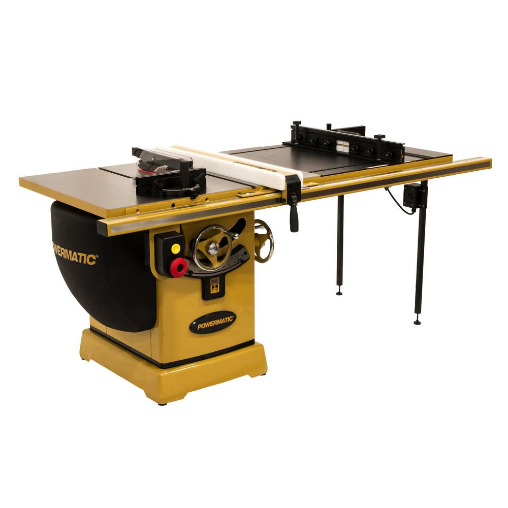2000B 230-Volt/460-Volt 5 HP 3PH 50 in. RIP Table Saw with