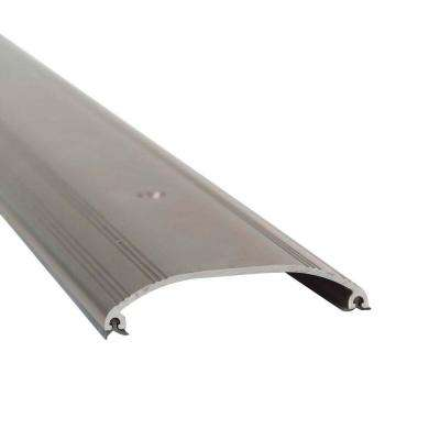 36 in. Satin Nickel Low Dome Top Threshold