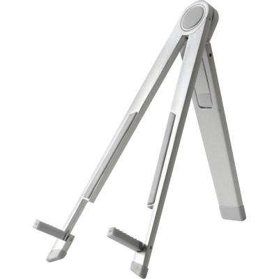 Barkan Silver Slim Tablet Stand for Portrait and Landscape Positions