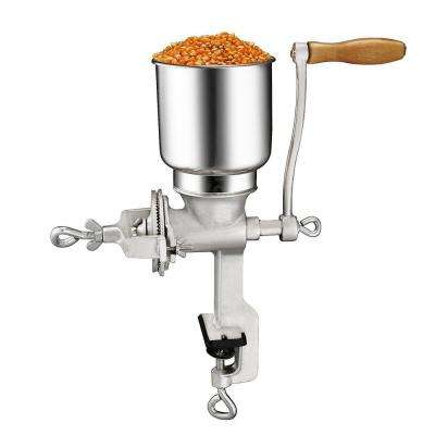 Cast Iron Handheld Corn and Grain Grinder