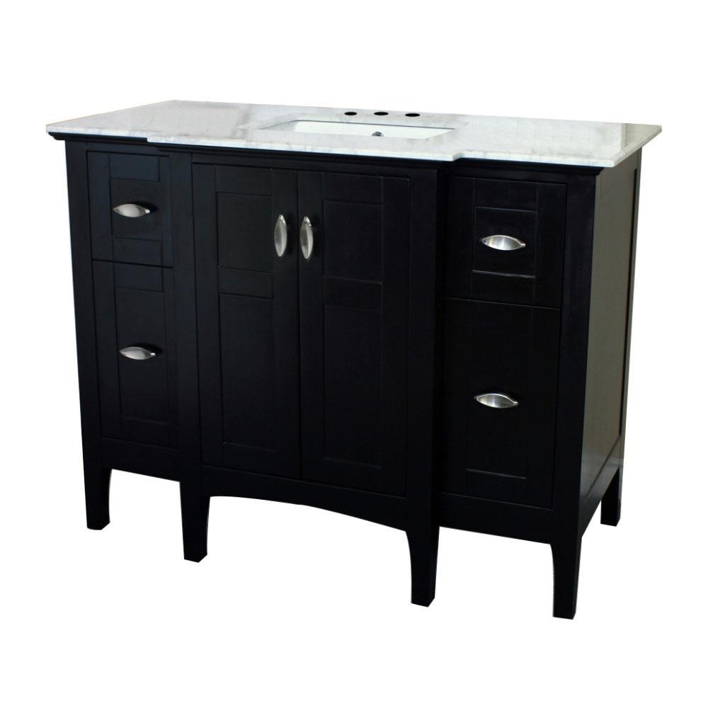 45 Bathroom Vanity Home Depot: Bellaterra Home Oroville 45 In. W X 22 In. D Single Vanity