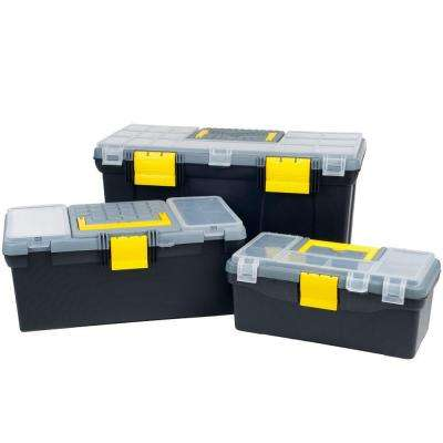 19.75 in. Parts and Crafts 3-in-1 Storage Tool Box