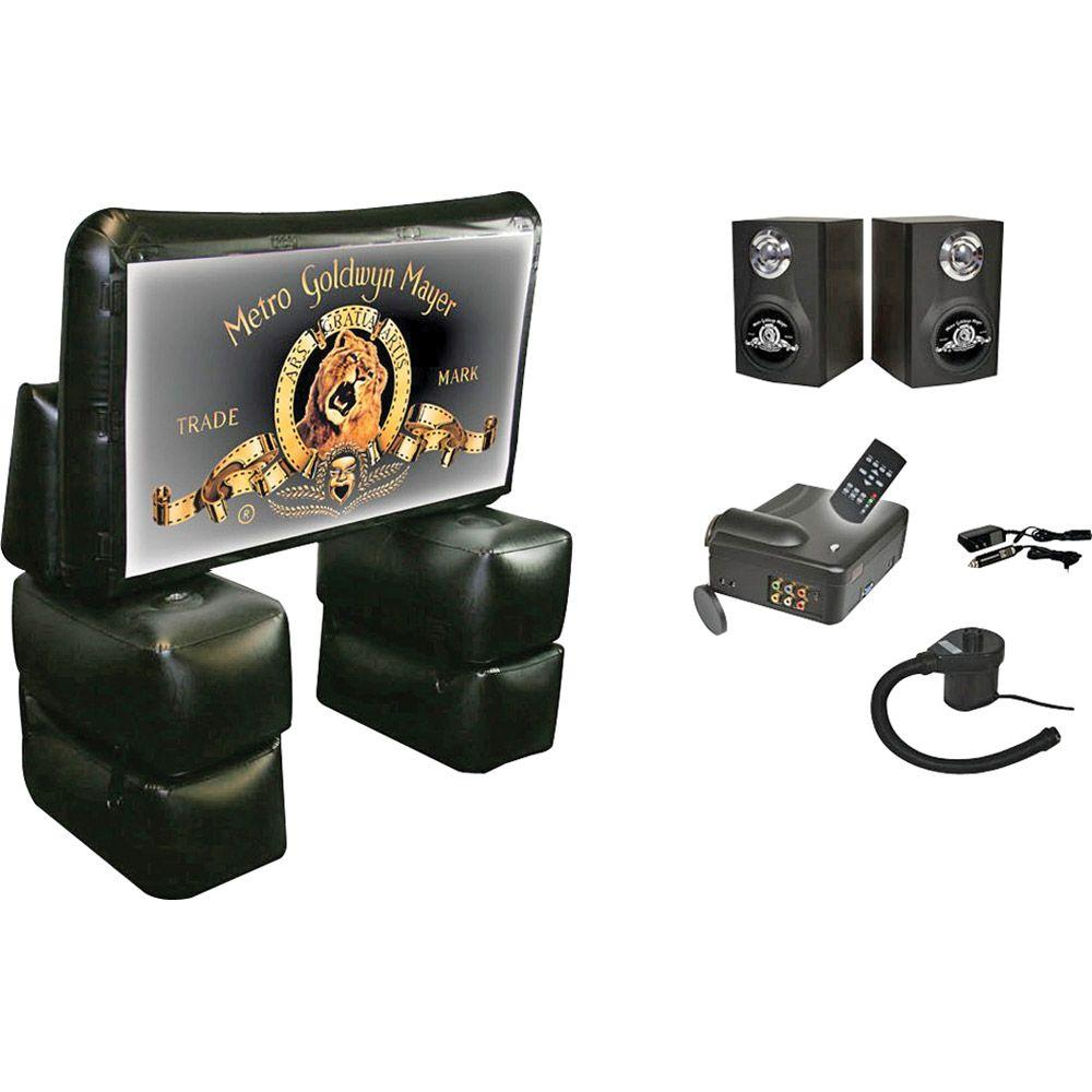 Sima 72 in. MGM Inflatable Indoor/Outdoor Home Theater Kit-DISCONTINUED