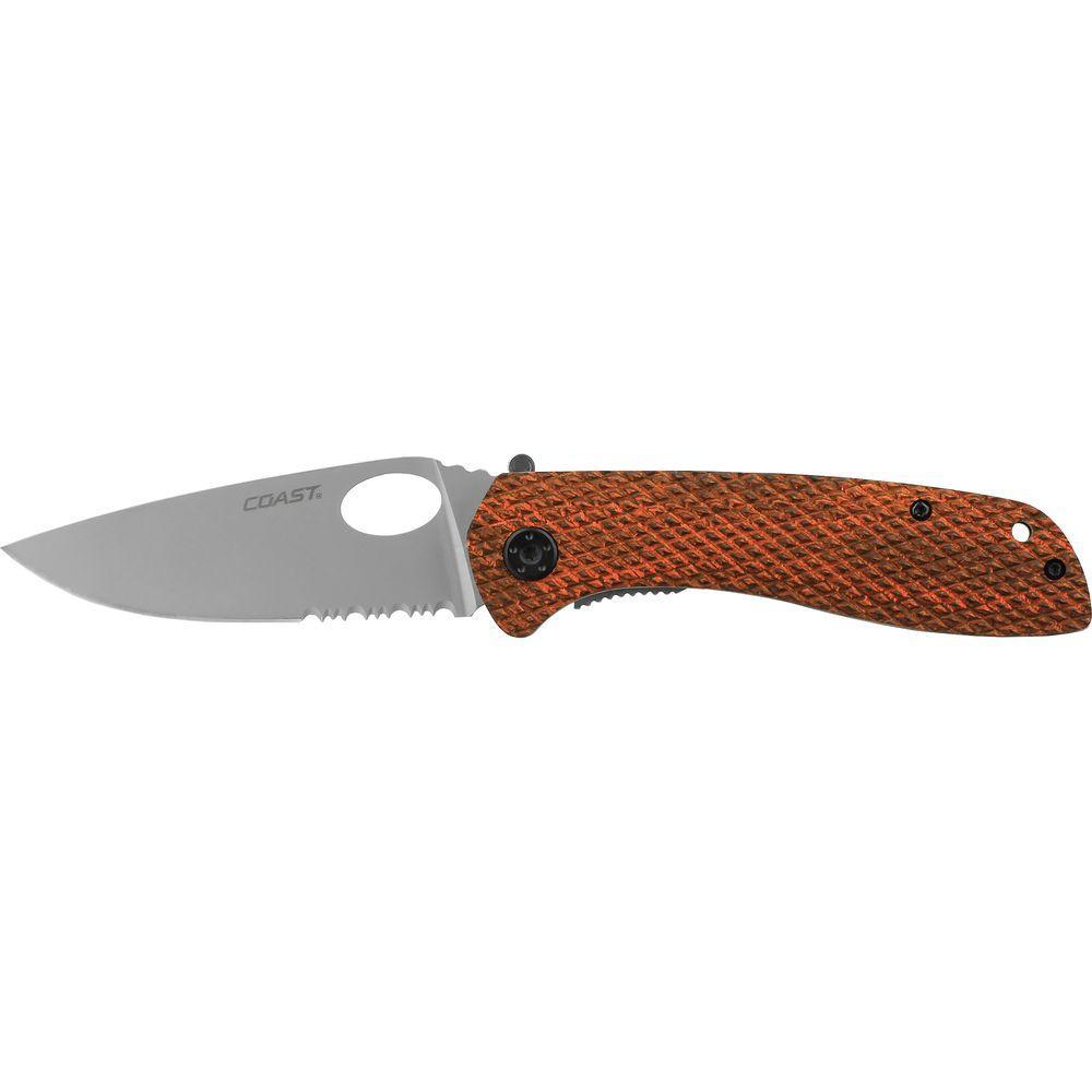Coast DX312 Double Lock Folding Knife