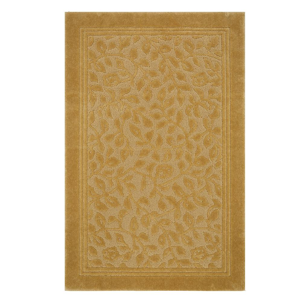 Mohawk Home Wellington 5 Ft X 7 Nylon Bath Rug In Gold