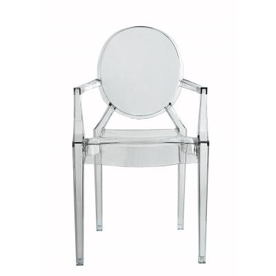 Trenton Clear Arm Chair (Set of 2)