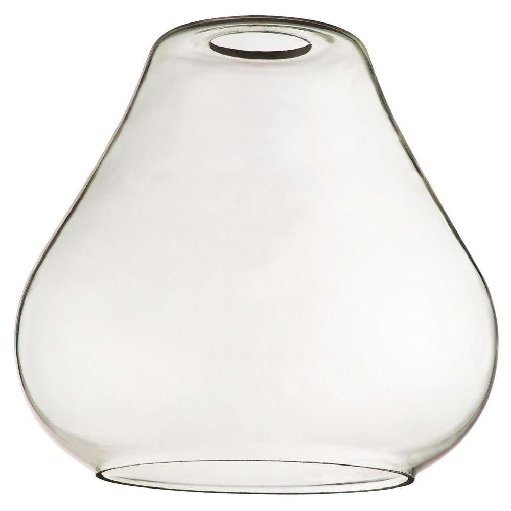 Westinghouse 7 in Clear Glass Open Teardrop Shade with 2