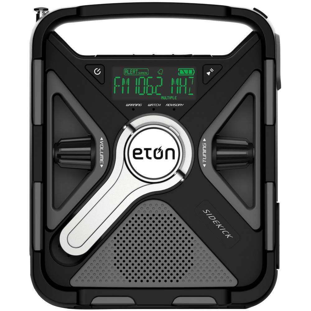 BT Sidekick Self-Powered Weather Alert Radio with Bluetooth