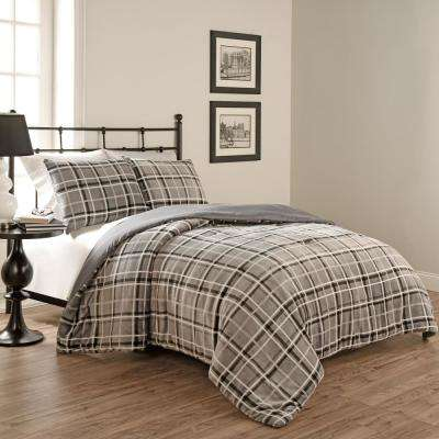 Casimir Plaid Comforter Set (3-Piece)