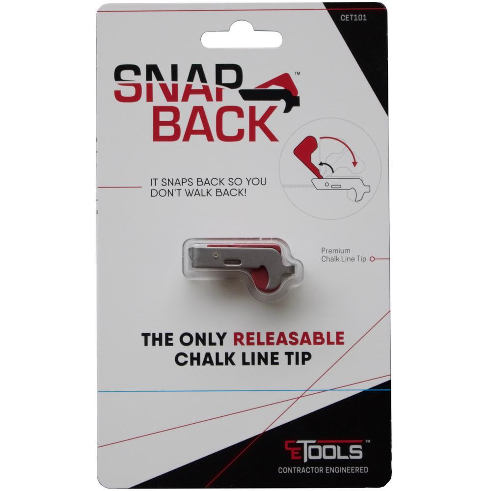 SnapBack Releasable Chalk Reel Tip