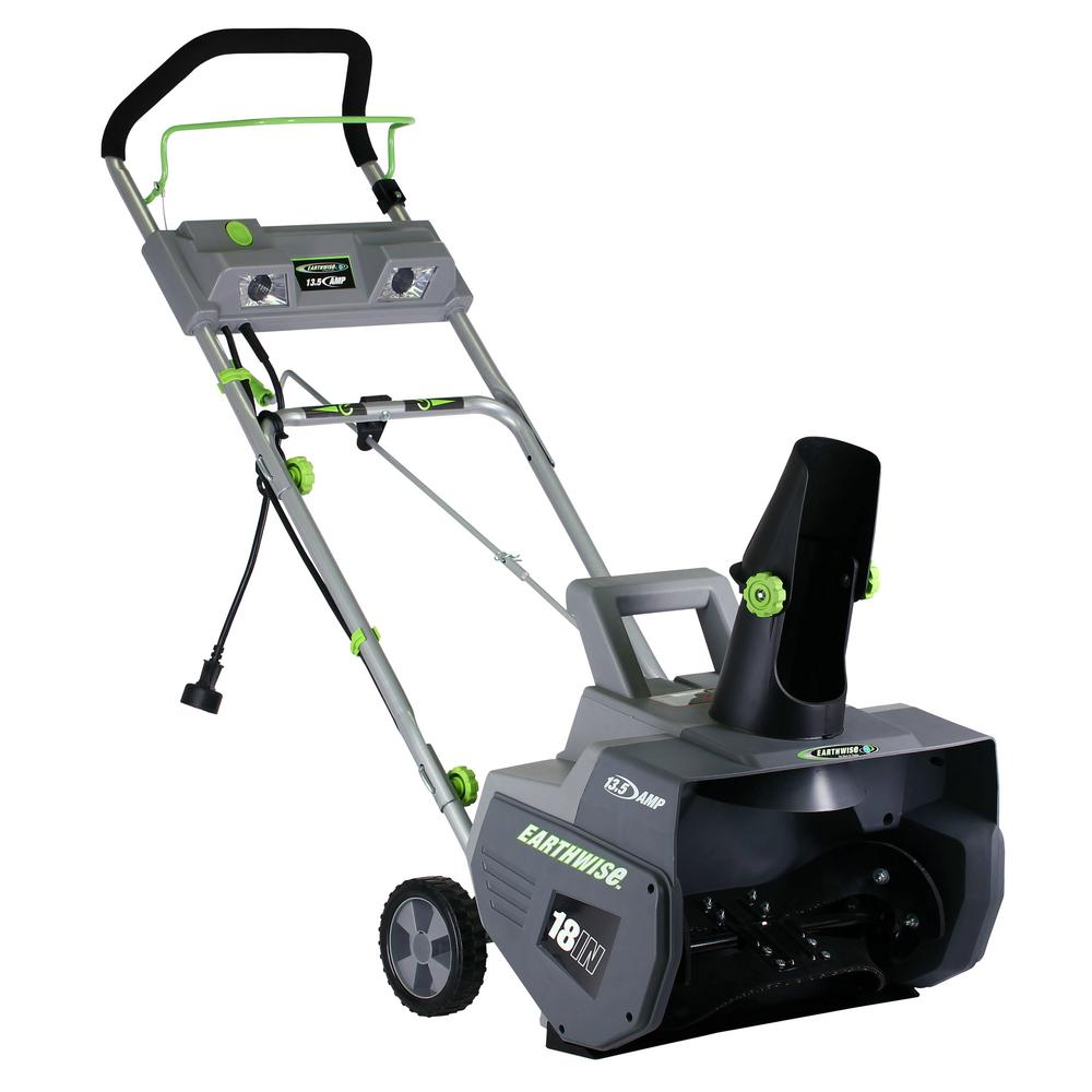 13 5 amp corded electric snow thrower