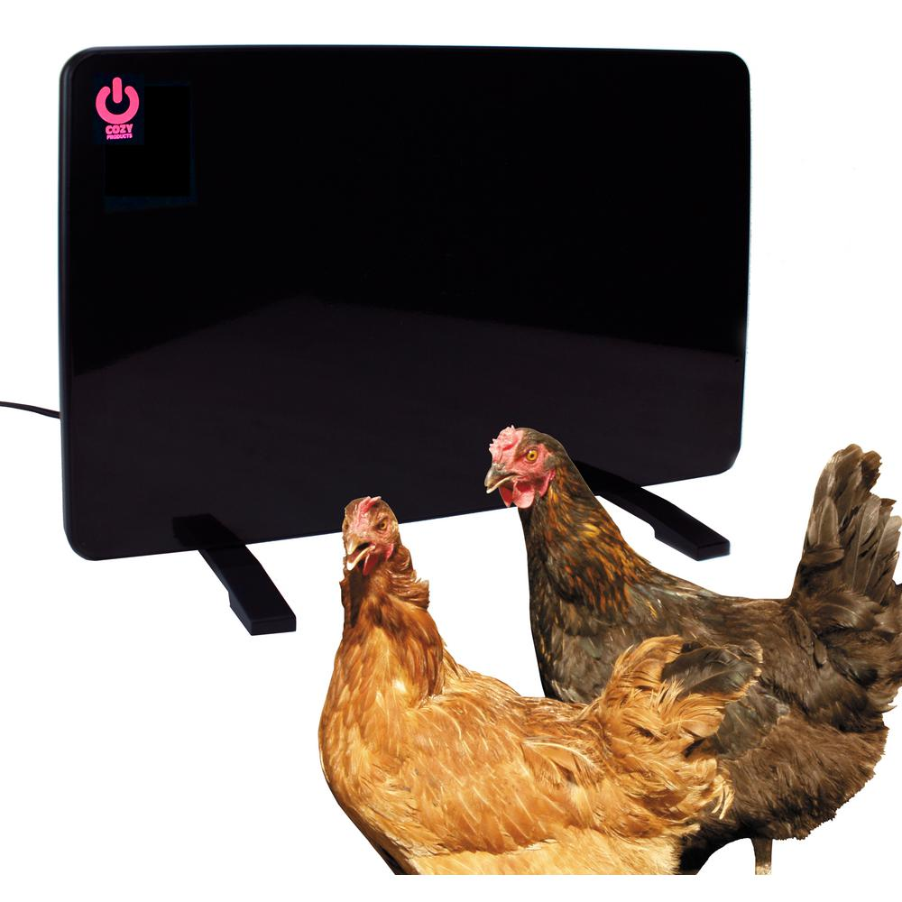 Beige Accessories Bird Wildlife Supplies Moxaz Cozy Heater Wiring Diagram Model 200 Watt Flat Panel Design Coop Safe Chicken