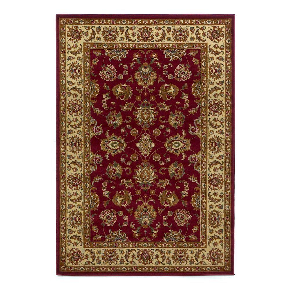 KAS Imperial Traditions Red 8 ft. x 10 ft. Area Rug