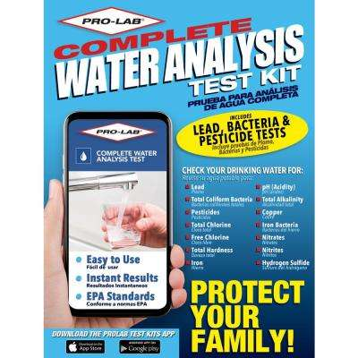 Total Water Quality Test Kit for Private Wells