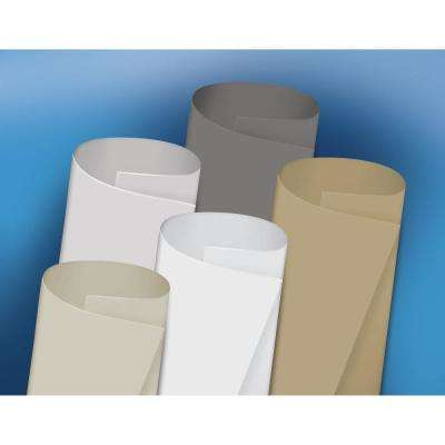 EPDM Rubber Roofing - Brite-Ply (White), 30 X 86