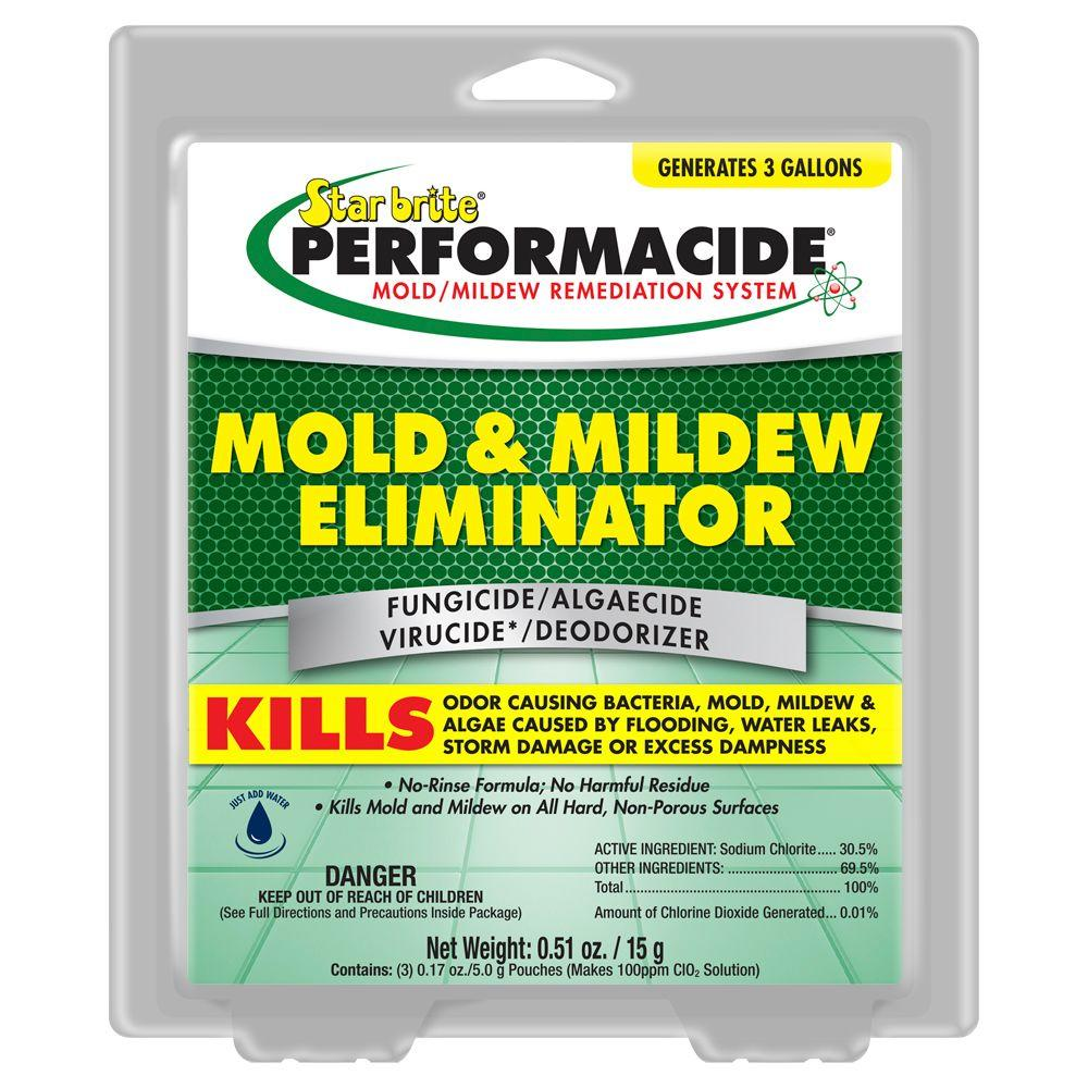 Star Brite Performacide 1 Gal. Mold and Mildew Eliminator Refill Pro Pack (3-Packs)