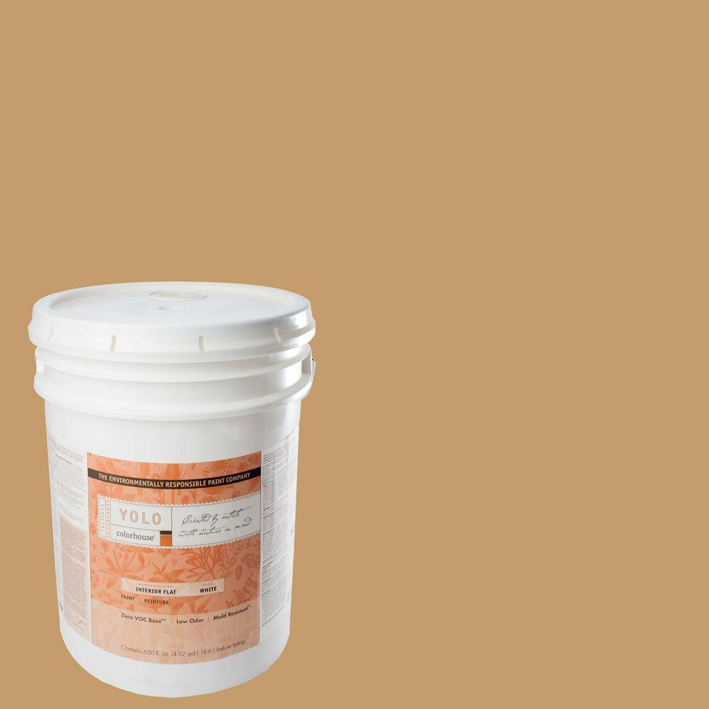 YOLO Colorhouse 5-gal. Clay .01 Flat Interior Paint-DISCONTINUED