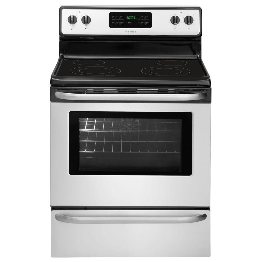 Frigidaire 5 4 cu ft Electric Range with Self Cleaning