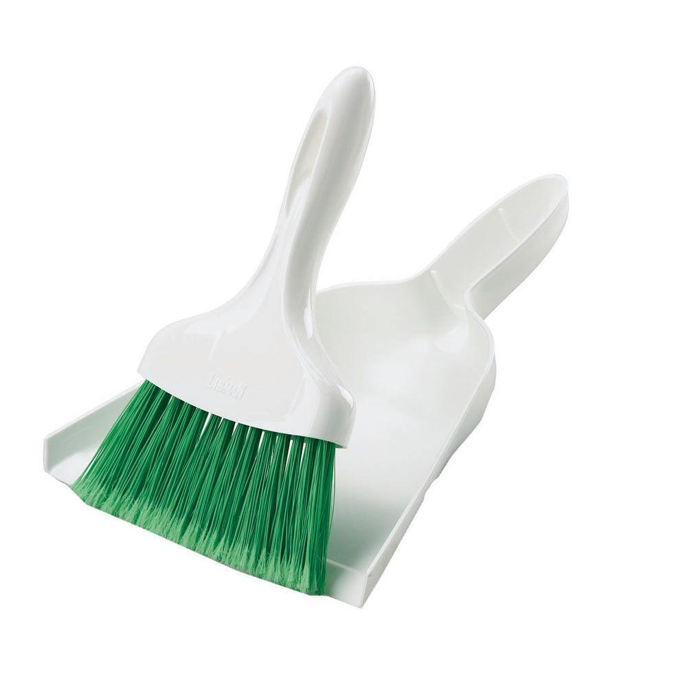 Cleaning & Janitorial Supplies Dustpan and Soft Brush Set Plastic ...