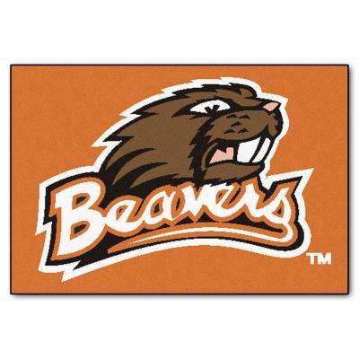 Oregon State University 19 in. x 30 in. Accent Rug