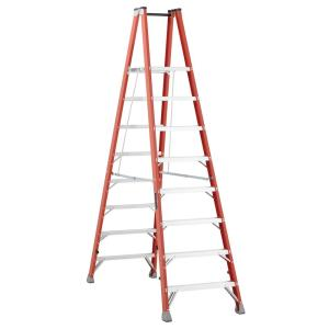 Louisville Ladder 8 ft. Fiberglass Twin Platform Step Ladder with 300 lbs. Load... by Louisville Ladder