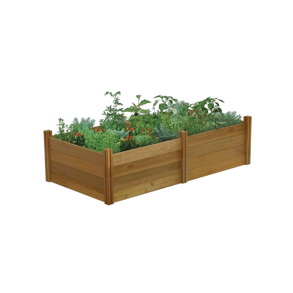 Gronomics 48 in. x 95 in. x 26 in. Modular Raised Garden Bed