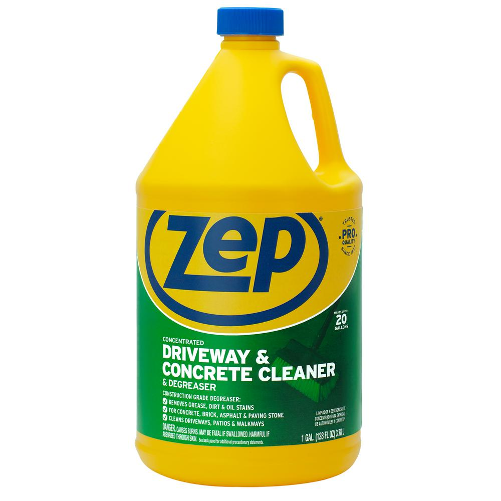 Zep 1 Gallon Driveway Concrete And Masonry Cleaner