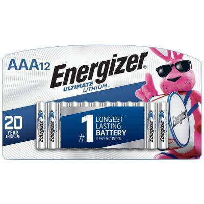 AAA ultimate Lithium Battery (12-Pack)