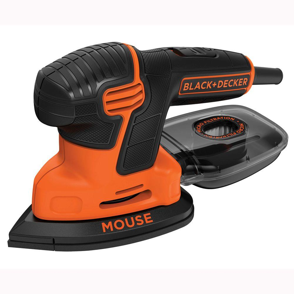 BLACK-DECKER 1.2 Amp Corded Detail Mouse Sander