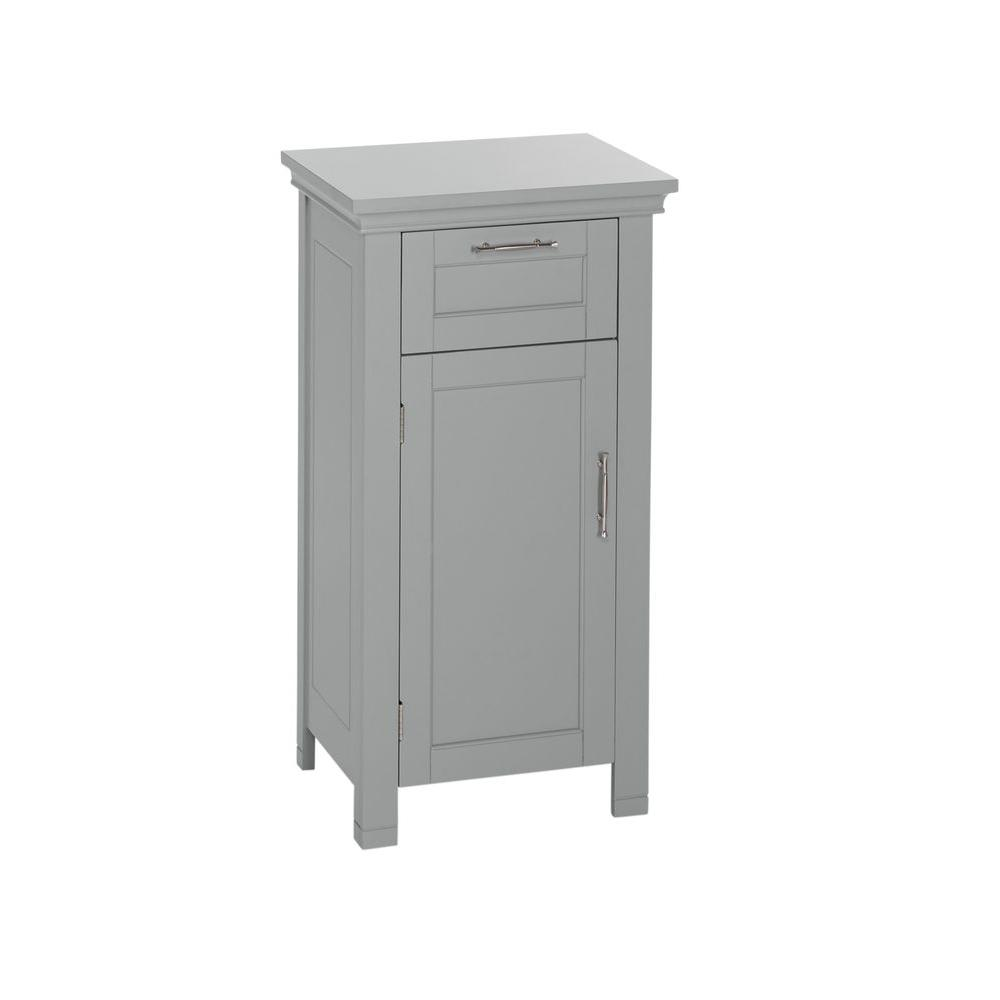Riverridge Home Somerset 16 In W X 30 In H X 12 In D Bathroom Linen Storage Floor Cabinet In