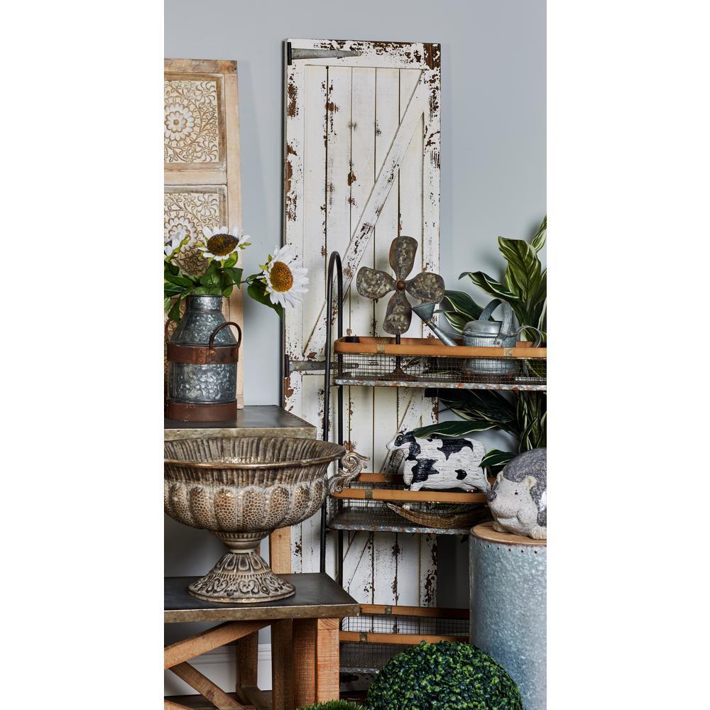 ''Slatted Barn Door'' Wooden Wall Art