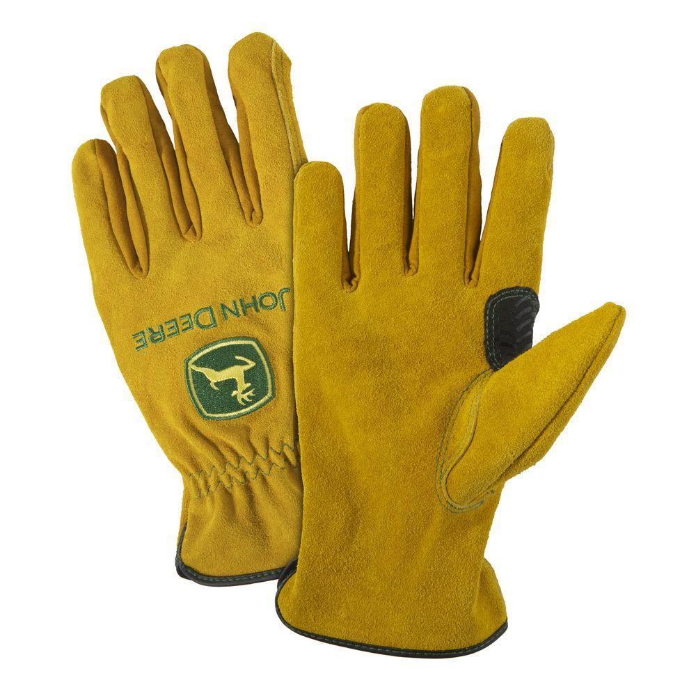 Split Cowhide Large Driver Gloves