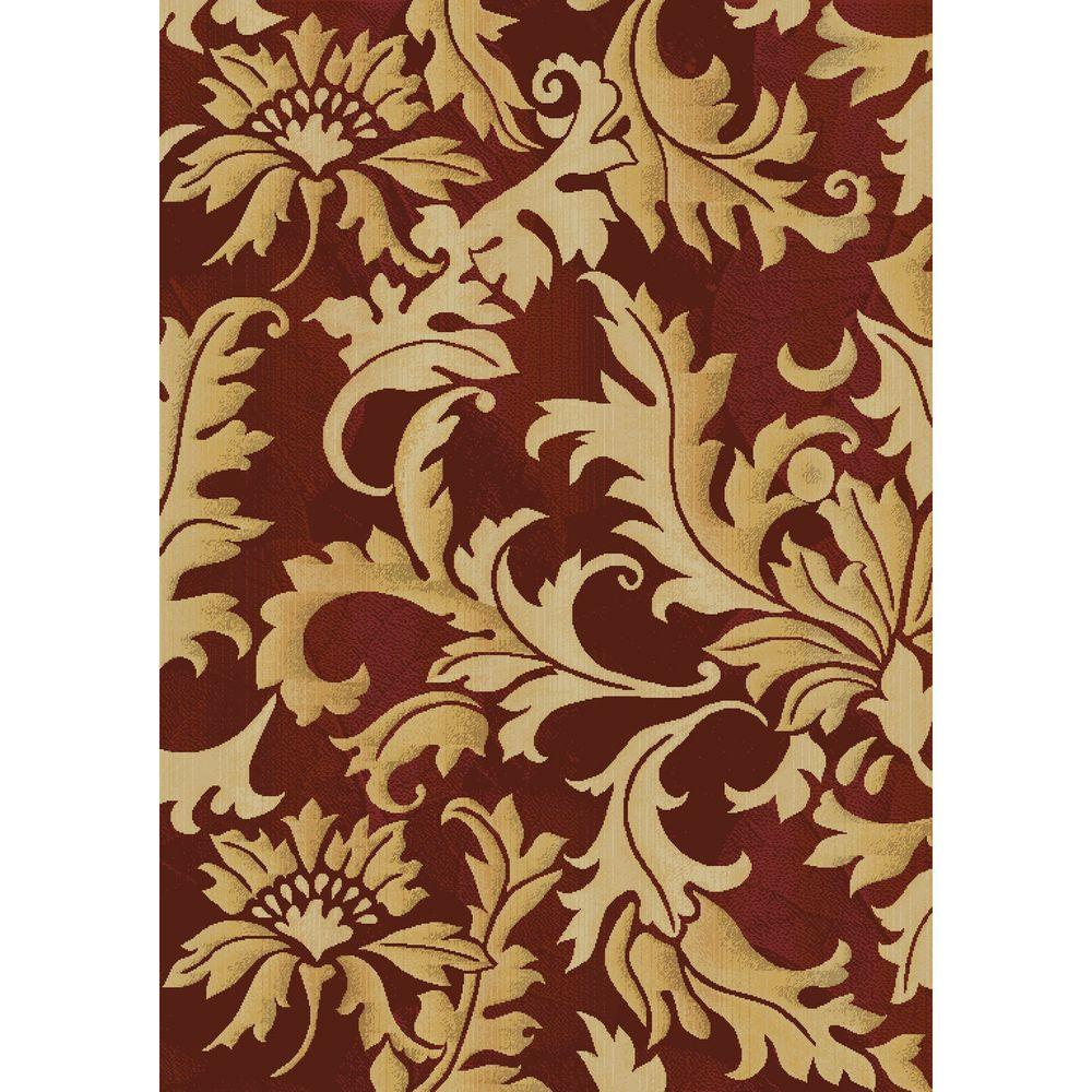 United Weavers Bordeaux 5 ft. 7 in. x 7 ft. 10 in. Transitional Area Rug