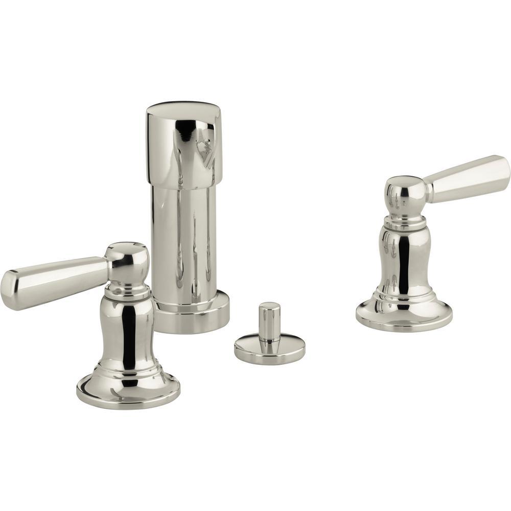 Kohler Bancroft 2 Handle Vertical Spray Bidet Faucet With Lever