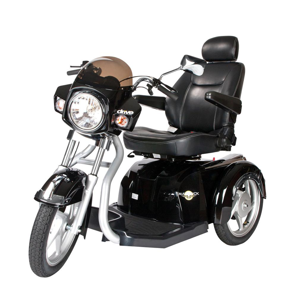 Drive Maverick Executive 3-Wheel Power Scooter 20 in. Seat