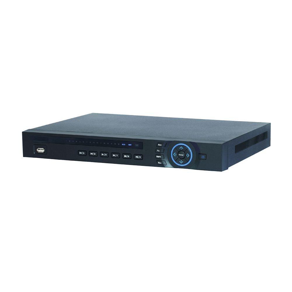 SeqCam 32-Channel 720 1GB 8PoE Network Video Recorder Surveillance DVR Player