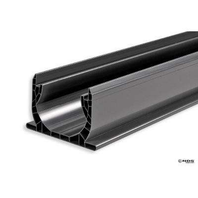 NDS 4 in, x 4 ft. PVC Speed-D Channel Drain