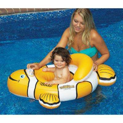 Clownfish Baby Seat Swimming Pool Float