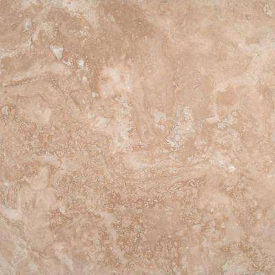 Durango Cream 18 in. x 18 in. Honed Travertine Floor and Wall Tile (9 sq. ft. / case)