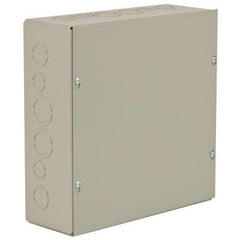 NEMA 1 12 in. x 16 in. x 8 in. Carbon Steel Screw Cover Wall-Mount